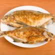 Fried bream — Stock Photo