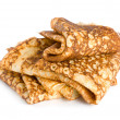 Folded pancakes — Stock Photo