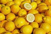 Lemon background — Stock Photo