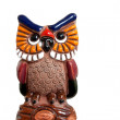 Decorative owl — Stock Photo