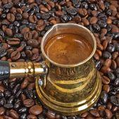 アラブ コーヒー ポット — ストック写真