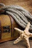 Пиратская сокровищница — Стоковое фото