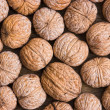 Foto de Stock  : Background of walnuts