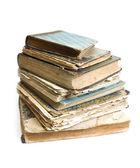 Stará kniha s pomačkaný — Stock fotografie