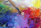 Malířské barvy — Stock fotografie