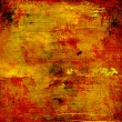 Stock Photo: Red gold grunge