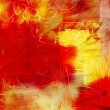 Abstract acrylic paint background — Stock Photo