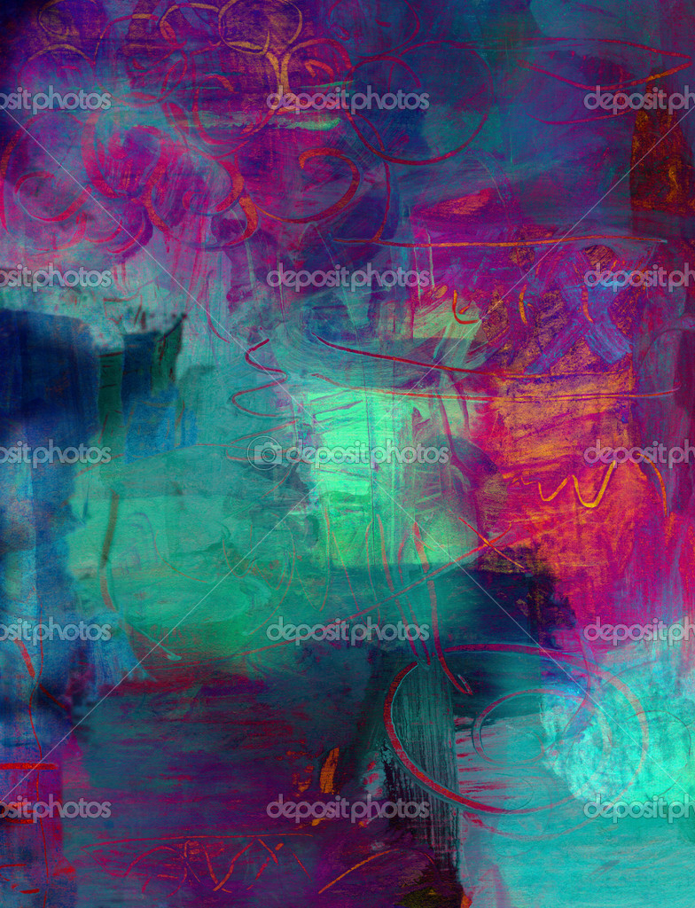 Abstract acrylic paint background stock photo mobilee for Background acrylic painting techniques
