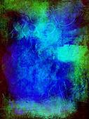 Blue green black background — Stock Photo