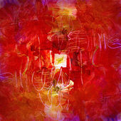 Acrílicos sobre lienzo — Foto de Stock