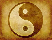 Yin and yang background — Stock Photo