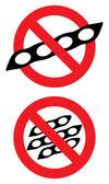 No soy. Vector sign. — Stock Vector