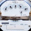 Electric power meter — Stock Photo