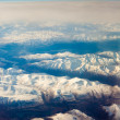 Stock Photo: Snowcapped mountains