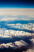 Snowcapped mountains — Stock Photo