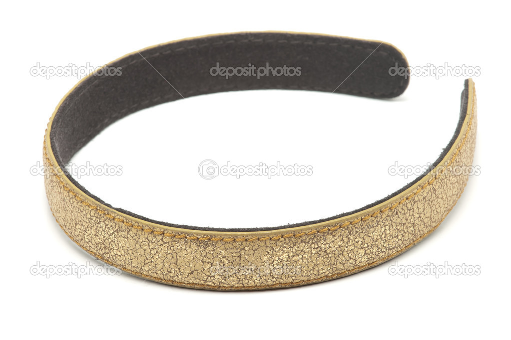 Golden headband — Stock Photo #4723162