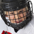 Only courageous play hockey — Stock Photo