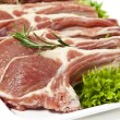 Lamb chop - Stock Photo