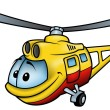 Helicopter — Stock Vector