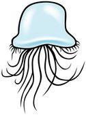 Jellyfish — Vetorial Stock