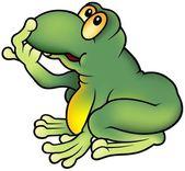 Green Frog — Vecteur