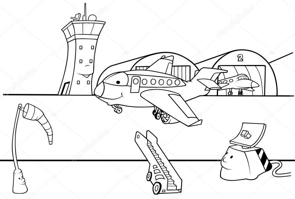 Aviones Despegando