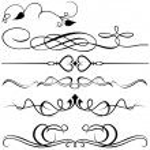 Calligraphic design elements — Stock Vector #4914249