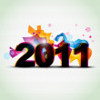 Royalty-Free Stock Vector Image: Colorful new year design