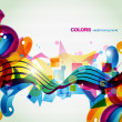 Colorful celebration — Imagen vectorial
