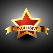 Exclusive vector icon — Stock Vector