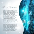 Royalty-Free Stock Vector Image: Vector snowflake background