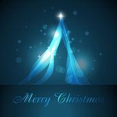 Artistic christmas tree — Stock Vector