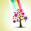 Colorful tree — Stock Vector #4199249