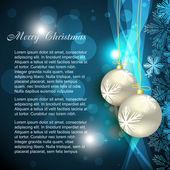 Shiny christmas background — Stock Vector
