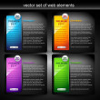 Royalty-Free Stock Imagem Vetorial: Web element