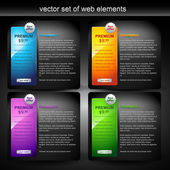 Web element — Vettoriale Stock