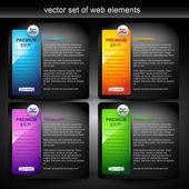 élément web — Vecteur
