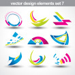 Abstract shape vector — Vector de stock #5018507
