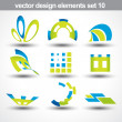 Abstract shape vector — Vector de stock #5018519
