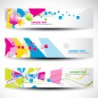 Abstract header set — Stock Vector #5018537