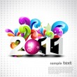 Vector new year concept — Stock Vector