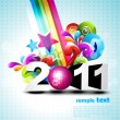 Royalty-Free Stock Vector Image: Happy new year