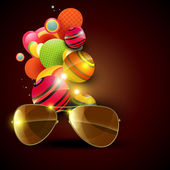 Sunglasses vector — Stock Vector