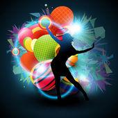 Dance vector — Stock Vector
