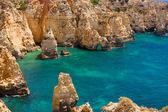 アルガルヴェ ロック - ポルトガルの海岸 — ストック写真