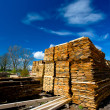 Foto Stock: Lumber collection