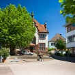 Old very nice city at Germany - Foto Stock