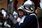 History event, knight holiday day of mascarade — Stock Photo