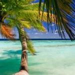Tropical Paradise at Maldives — Stock Photo