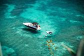 Snorkelling in clear ocean — Stock Photo